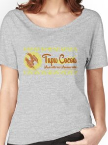 Tapu Cocoa Logo Women's Relaxed Fit T-Shirt
