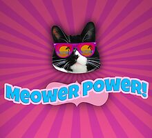 Meower Power by mytshirtfort