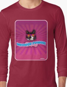 More Meower Power Long Sleeve T-Shirt