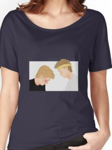 Skam, Isak and Even | Evak Illustration Women's Relaxed Fit T-Shirt