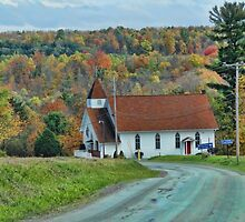 Little Rural Church by vigor