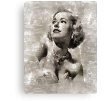 Eleanor Parker, Actress Canvas Print