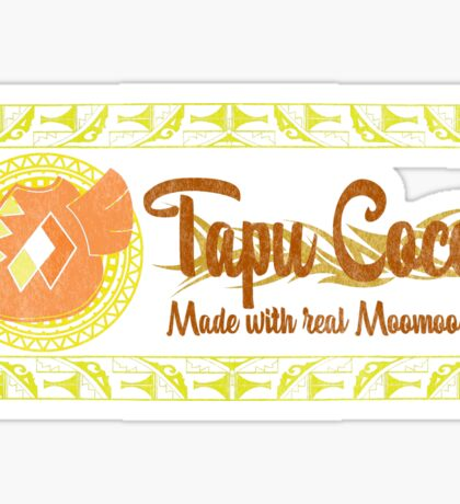 Tapu Cocoa - Distressed Logo 2 Sticker
