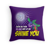Show me your BLING Throw Pillow