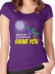 Show me your BLING Women's Fitted Scoop T-Shirt