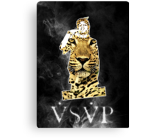 VSVP Leopard Canvas Print