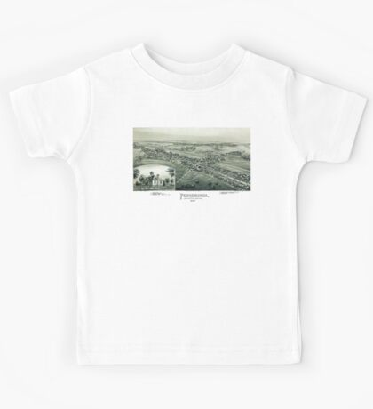 Pennsburgh - Montgomery County - Pennsylvania - 1894 Kids Tee