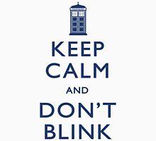 Keep Calm and Don't Blink - Light Unisex T-Shirt