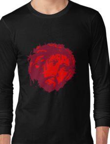 jesus dornen krone blut tot kreuz mord tropfen graffiti cool design sünde gestorben  Long Sleeve T-Shirt