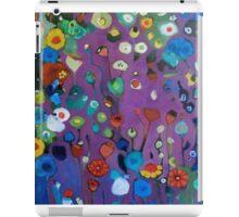 Bloom field - Purple iPad Case/Skin