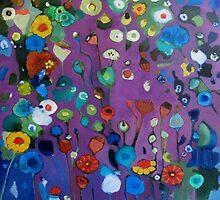 Bloom field - Purple by chriscozen