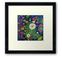 Bloom field - Night Framed Print