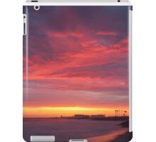 Red beach,  Nature, Seascape iPad Case/Skin