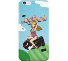 Miss Peach Pin-Up iPhone Case/Skin