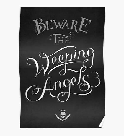 Beware the Weeping Angels Poster