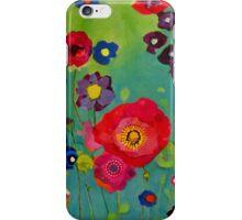 Bloom field - Poppy iPhone Case/Skin
