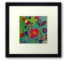 Bloom field - Poppy Framed Print