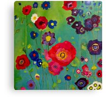 Bloom field - Poppy Canvas Print