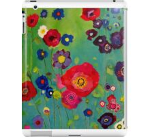 Bloom field - Poppy iPad Case/Skin