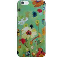 Bloom field - green iPhone Case/Skin