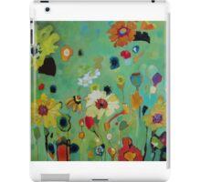 Bloom field - green iPad Case/Skin