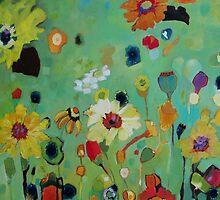 Bloom field - green by chriscozen