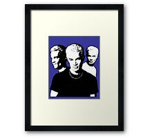 A Trio of Spike Framed Print