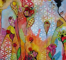 Pretty Patterns/orange by chriscozen