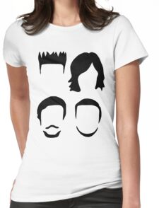 Bastille Hair Design with Dan Will Kyle and Woody Womens Fitted T-Shirt