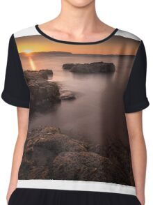 Sunset over Donegal Chiffon Top