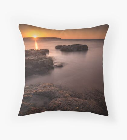 Sunset over Donegal Throw Pillow