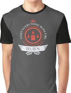Magic The Gathering - Burn Life Graphic T-Shirt