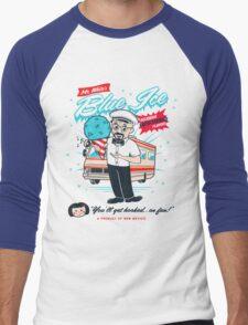 Mr. White's Blue Ice Men's Baseball ¾ T-Shirt