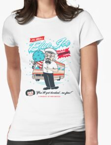 Mr. White's Blue Ice Womens Fitted T-Shirt