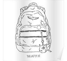 Ellie's Backpack (TLOU) Poster