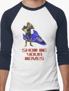 Show Me Your Moves Men's Baseball ¾ T-Shirt