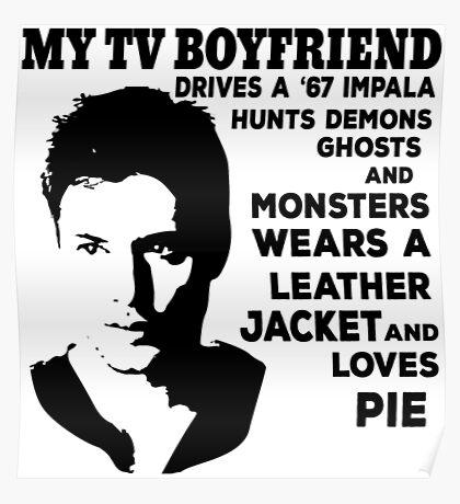 Dean Tshirt Poster
