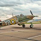Hurricane IIc LF363 Tailwind Taxying by Colin Smedley