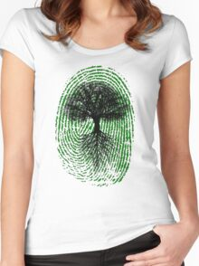 Green Thumb Women's Fitted Scoop T-Shirt