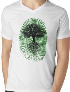 Green Thumb Mens V-Neck T-Shirt