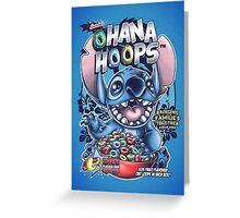 Ohana Hoops! Greeting Card