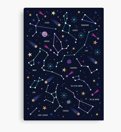 The Stars  Canvas Print