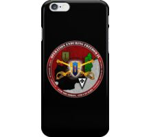 6-4 Cavalry (Operation Enduring Freedom IX) iPhone Case/Skin