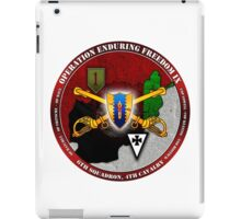6-4 Cavalry (Operation Enduring Freedom IX) iPad Case/Skin