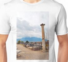 Paved stone road to Pompeii. Unisex T-Shirt