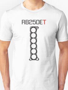 RB25DET Engine Head Gasket design for a light shirt Unisex T-Shirt