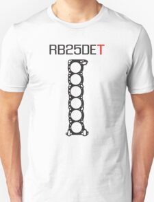 Nissan RB25DET Engine Head Gasket design for a light shirt T-Shirt