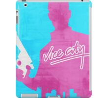 GTA Vice City Minimalistic Design iPad Case/Skin
