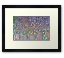 Silent Sunrise Framed Print