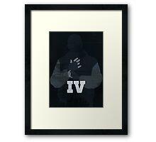 GTA IV Minimalistic Design Framed Print